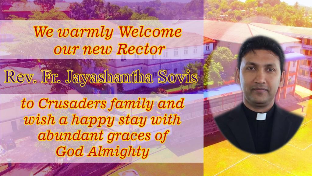 Welcome Rector2
